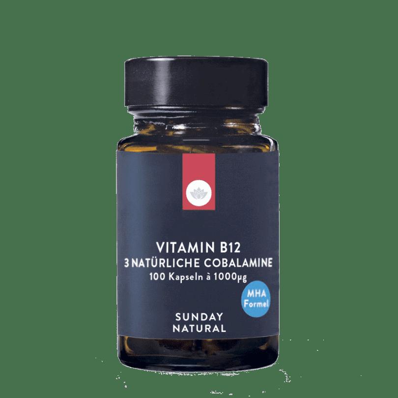 Vitamin B12 MHA Formel 1000µg