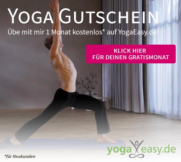 Ein Monat kostenlos Yoga mit Dr. Ronald Steiner auf YogaEasy
