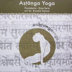 Ashtanga Yoga Praxiskarte 1. Serie - Dr. Ronald Steiner