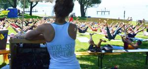 Yogafestival am See