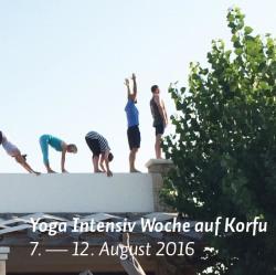 Yoga Intensiv Woche Korfu