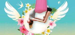 Ariel Yoga mit Sound